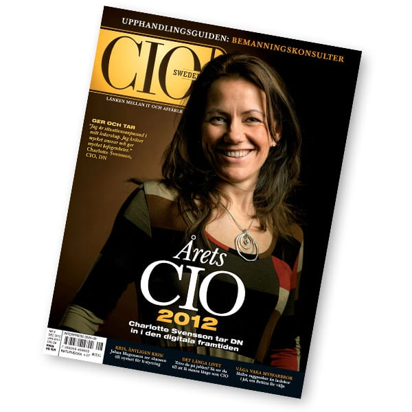CIO Sweden 8/2012.
