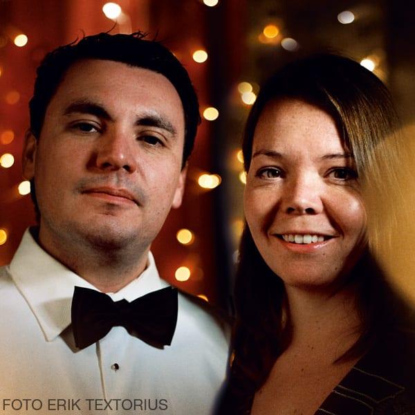 Juan Segura och Jessica Gertun, Nordnet