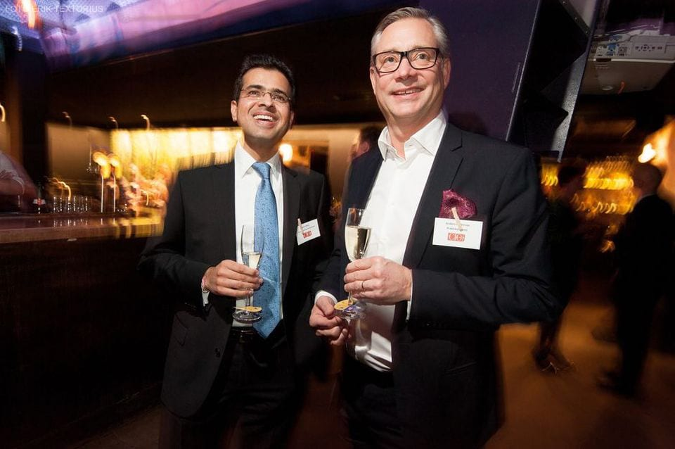 CIO Awards 2014 på Berns