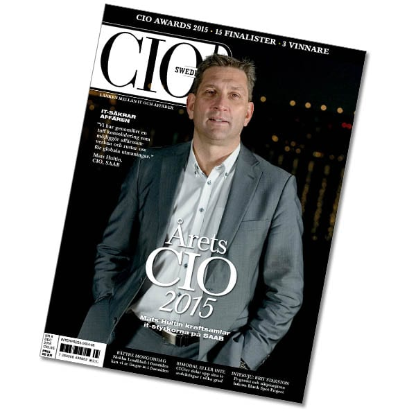 CIO Sweden 8/2015